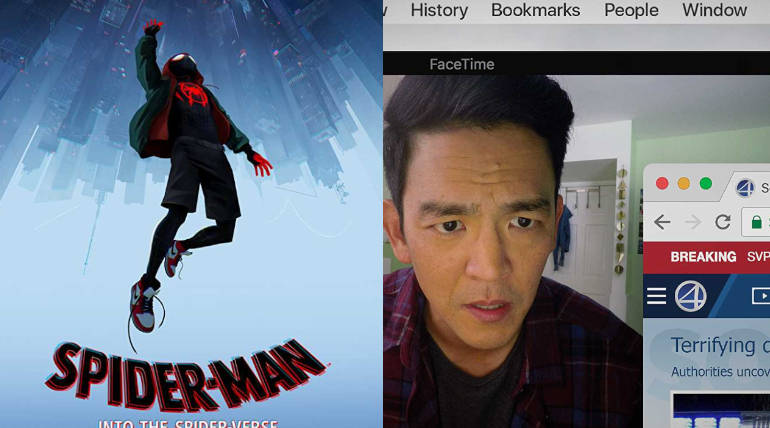 Spider-man: Into the Spider-Verse and Searching Posters