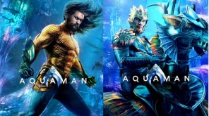 Jason Momoa and Dolph Lundgren from Aquaman
