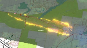 Bushfire Alerts to Residents Near Newcastle Airport. Image Credit @NSWRFS
