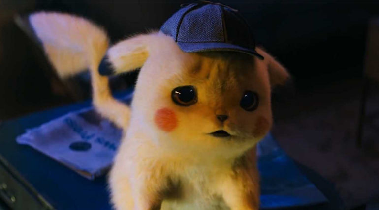 Pikachu from Pokemon Detective Pikachu