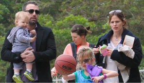 Ben Affleck, Jennifer Garner along with Kids , Image Credit - HollywoodLife