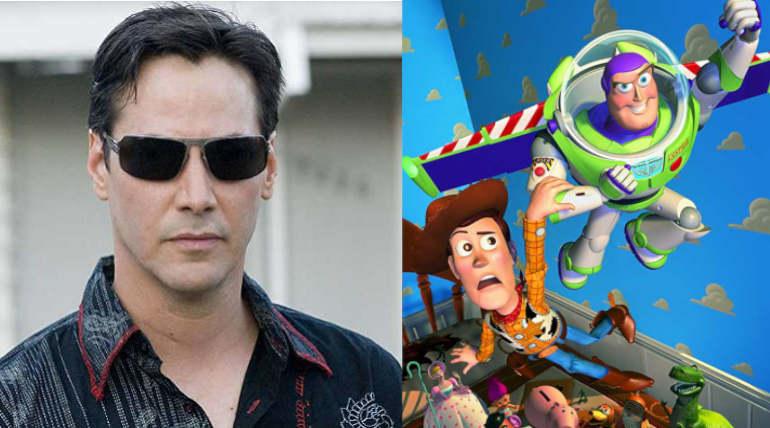 Keanu Reeves, Toy Story Image Source - IMDB