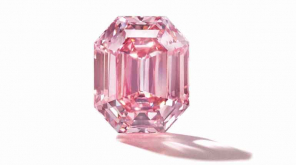 The Pink Legacy Becomes the Third Most Expensive Diamond Ever Sold. Image credit @ChristiesInc Twitter