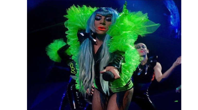 Lady Gaga Performance in Enigma