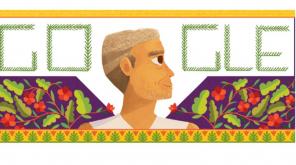 Google Doodle Baba Amte