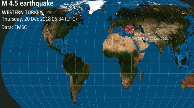 Turkey Earthquake. Image Source : @LastQuake