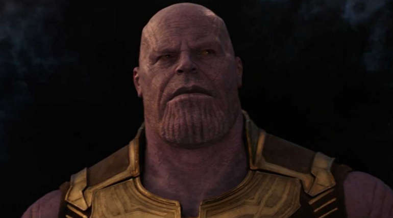 Josh Brolin in Avengers: Infinity War . Image Source:imdb