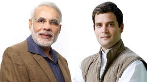 Narendra Modi and Raghul Gandhi. Image Source : Flickr