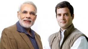 Narendra Modi and Raghul Gandhi. Image Source : Flickr