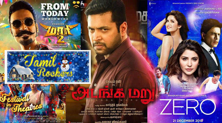 Tamilrockers leaks Maari 2 Adanga Maru Zero movie online torrents