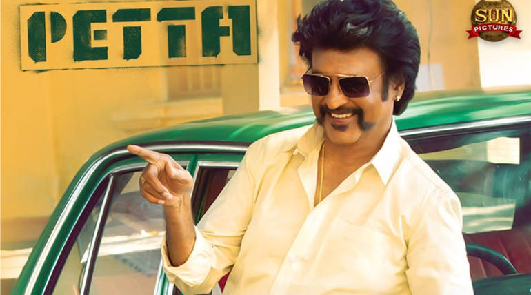 Petta Trailer Clip Leaked Online with Rajinikanth Mass Punch Dialog , Image Courtesy - Sun Pictures