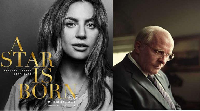 Lady Gaga and Christian Bale. Image Source : imdb