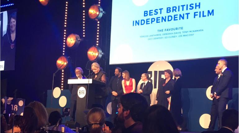 British Independant Film Awards 2018 Winners, Image Source - @BIFA Twitter