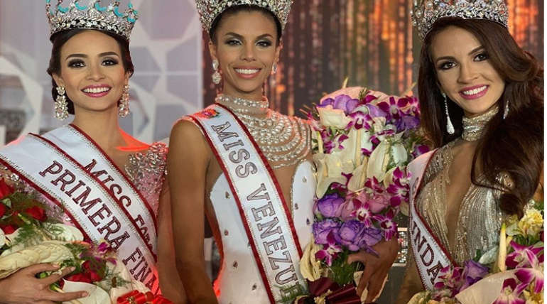 Miss Venezula 2018 Winners . Source @ missvenezula2018