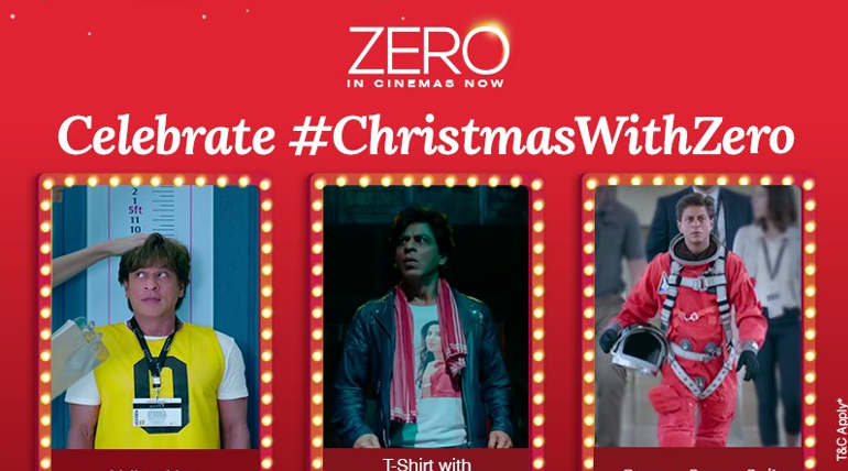 Zero Movie Worldwide Collections , Image Courtesy - Red Chillies Entertainment