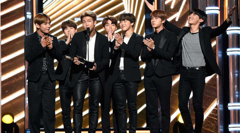 BTS Becomes the Most Tweeted about Celebs in Twitter