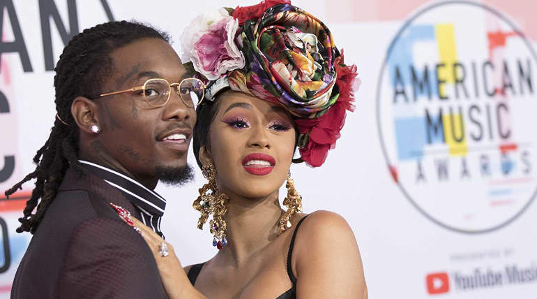 Cardi B in her Instagram Page Announced her Breakup with Offset