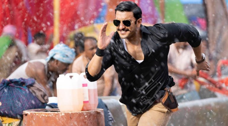 Simmba Opening Day Box Office , Image Source - Taran Adarsh (Simmba Still)