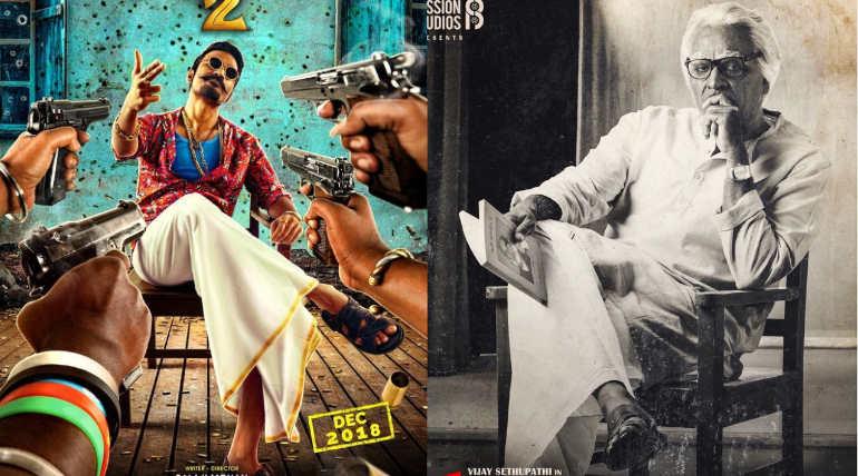 Maari 2 vs Seethakathi , Official Posters of the films