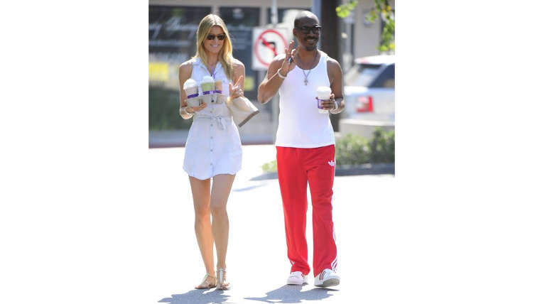 Eddie Murphy and Paige Butcher. Image Source:Flickr