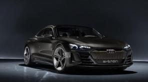 Audi E-Tron GT Concept Car in Avengers 4