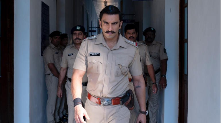 Simmba Full Movie Leaked Online By Tamilrockers , Image Source - Taran Adarsh (Simmba Movie Still)