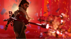 Petta Bookings at Bangalore Started , Image- Snapo from Petta Motion Poster
