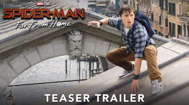 Spiderman Far From Home Teaser Trailer , courtesy - YouTube
