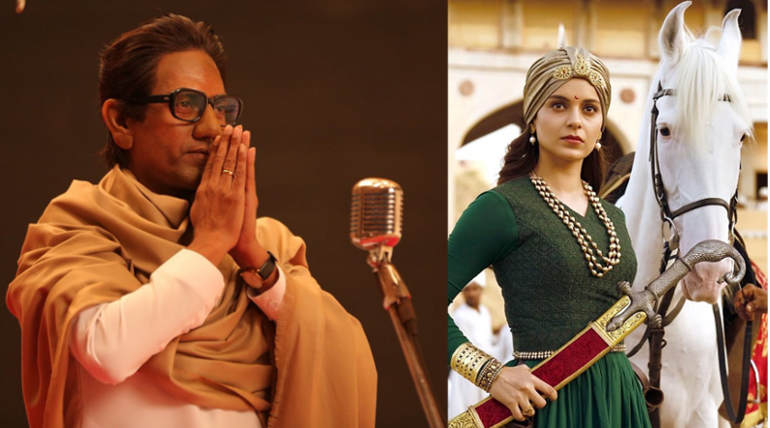 Manikarnika and Thackeray HD Prints Leaked Online , Image - movie stills