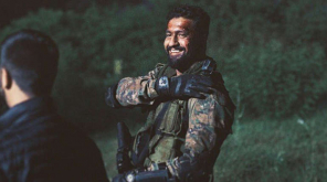 Vicky Kaushal in the Movie URI The Sugical attack. Youtube Screenshot