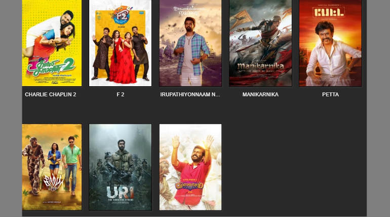 Tamilrockers 2019 New Movies Leak