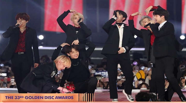 Golden Disc Awards 2019. Image Source Instagram @goldendisc