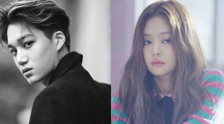 EXO Kai and BlackPink Jennie