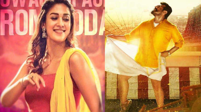 Ajith and Nayanthara in Viswasam. Image: IMDB