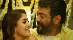 Ajith Kumar And Nayanthara in Viswasam. Image: Youtube Screenshot