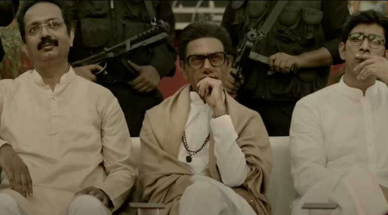 Nawazuddin Siddique in Movie Thackeray