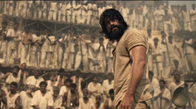 Watch KGF Online on Amazon Prime , Image - Trailer Snapshot