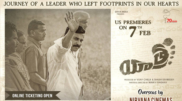 Yatra Ticket Booking Started , Image - Yatra US Premiere Poster