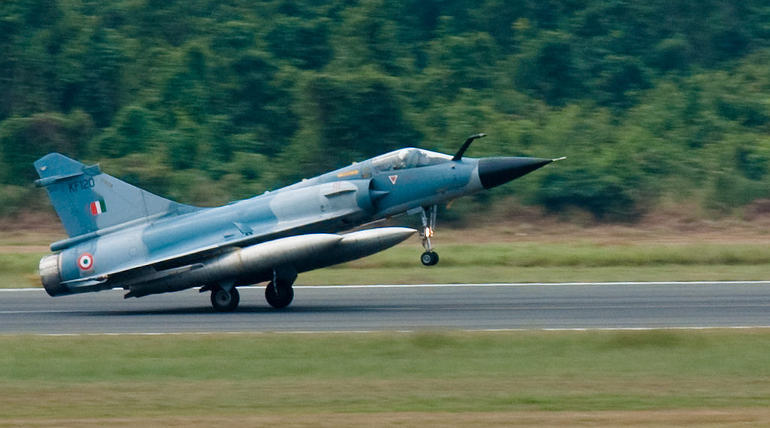 Mirage 2000 Jet Aircraft Representational Image, Courtesy - Navy Installations Command