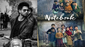Kabir Singh and Notebook Poster