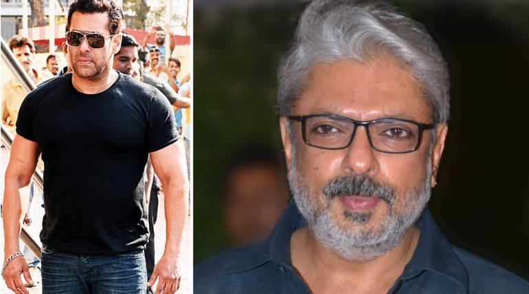 Salman Khan Sanjay Leela Bhansali , Image- Filmistan Twitter