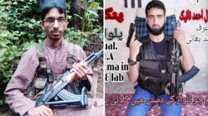 Jaish Commander Kamran and Local Militant Hilal , Image Courtesy - News18