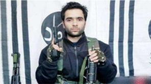 Pulwama Attacker Adil Ahmad Dar (Image by JEM)