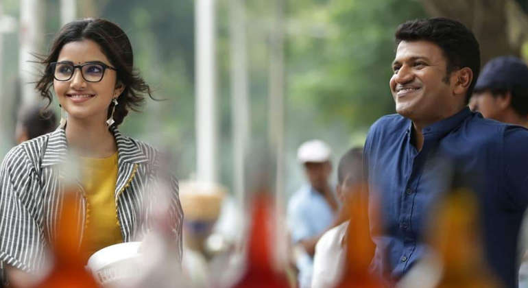 Anupama and Puneet in Natasaarvabhowma