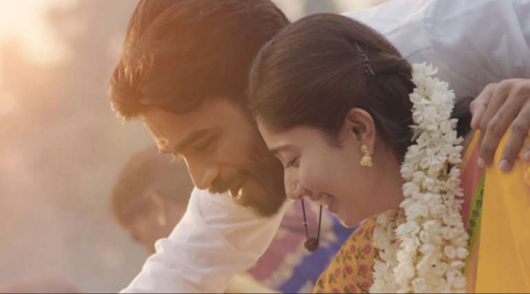 Dhanush and Sai Pallavi in Maari 2