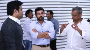 Suriya - GVM Project , Image Courtesy - IndiaGlitz