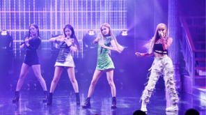 Black Pink in the late show