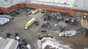 Illinois warehouse Shooting , Image - Bev Horne/Daily Herald via AP