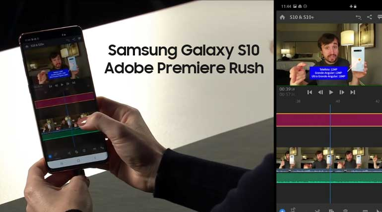 Adobe Premiere Rush. Image Credit - Samsung YouTube