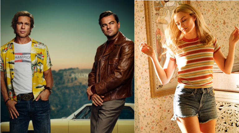 Once Upon a Time in Hollywood New Poster Image Courtesy Leonardo Dicaprio Twitter